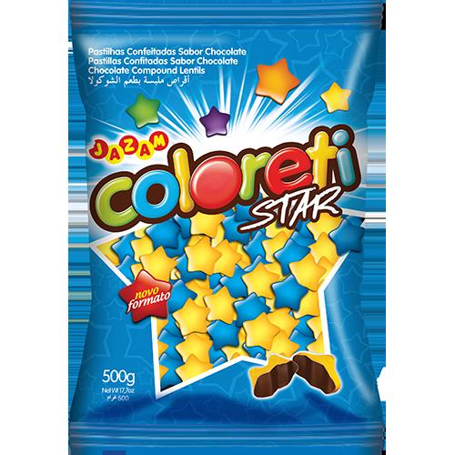COLORETI STAR PCTE 500G