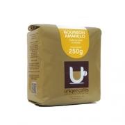 CAFE UNIQUE BOURBON AMARELO (MOIDO)  250 GRAMAS