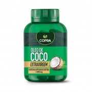 OLEO DE COCO EXT.VIRGEM 60 CAPS SOFTGEL X 1000MG