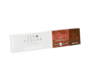TABLETE CHOCOLATE AMARGO 70 % ZERO AÇÚCAR - 40GR
