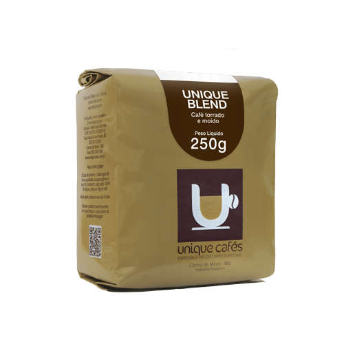CAFE UNIQUE BLEND (MOIDO)  250 GRAMAS