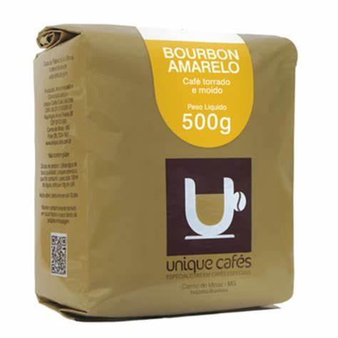 CAFE UNIQUE BOURBON AMARELO -  250G MOIDO
