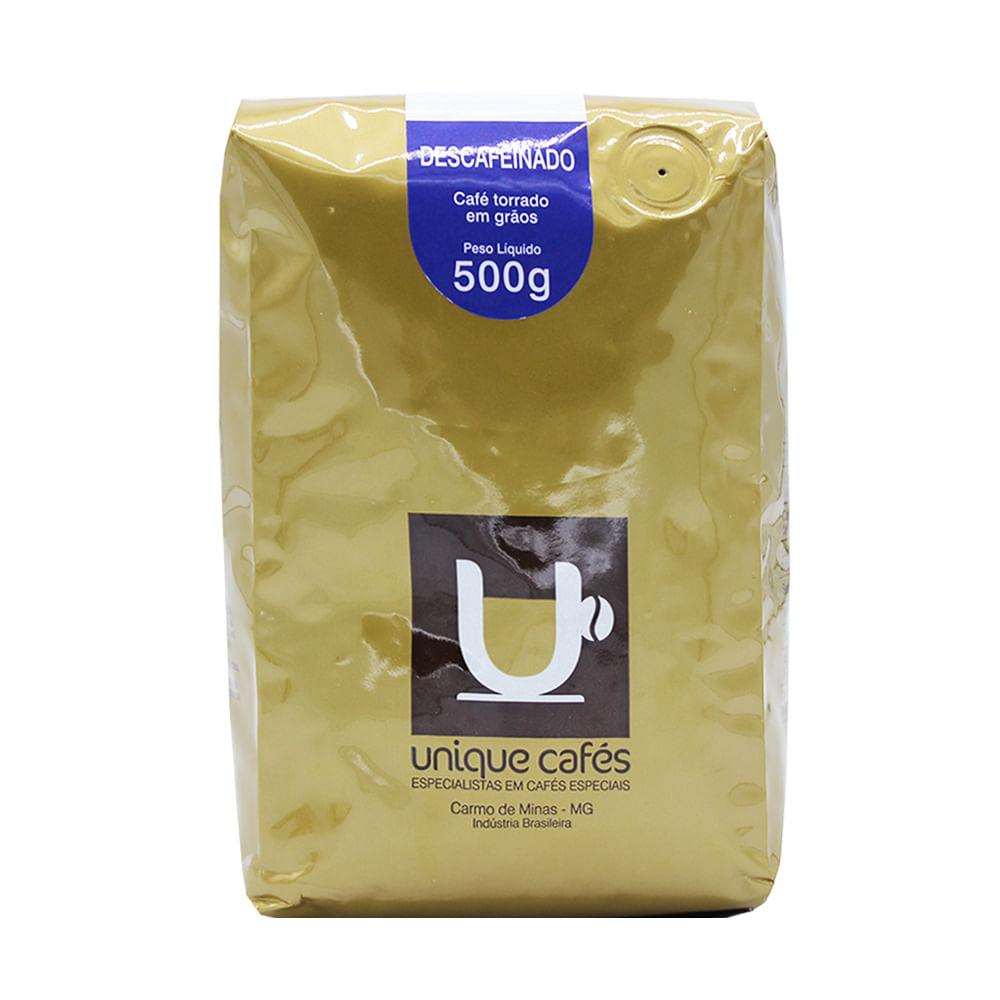 CAFE UNIQUE DESCAFEINADO - 500G MOIDO