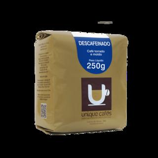 CAFE UNIQUE DESCAFEINADO (MOIDO)  250 GRAMAS