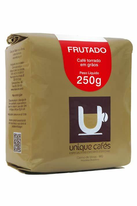 CAFE UNIQUE FRUTADO -  250G GRÃOS