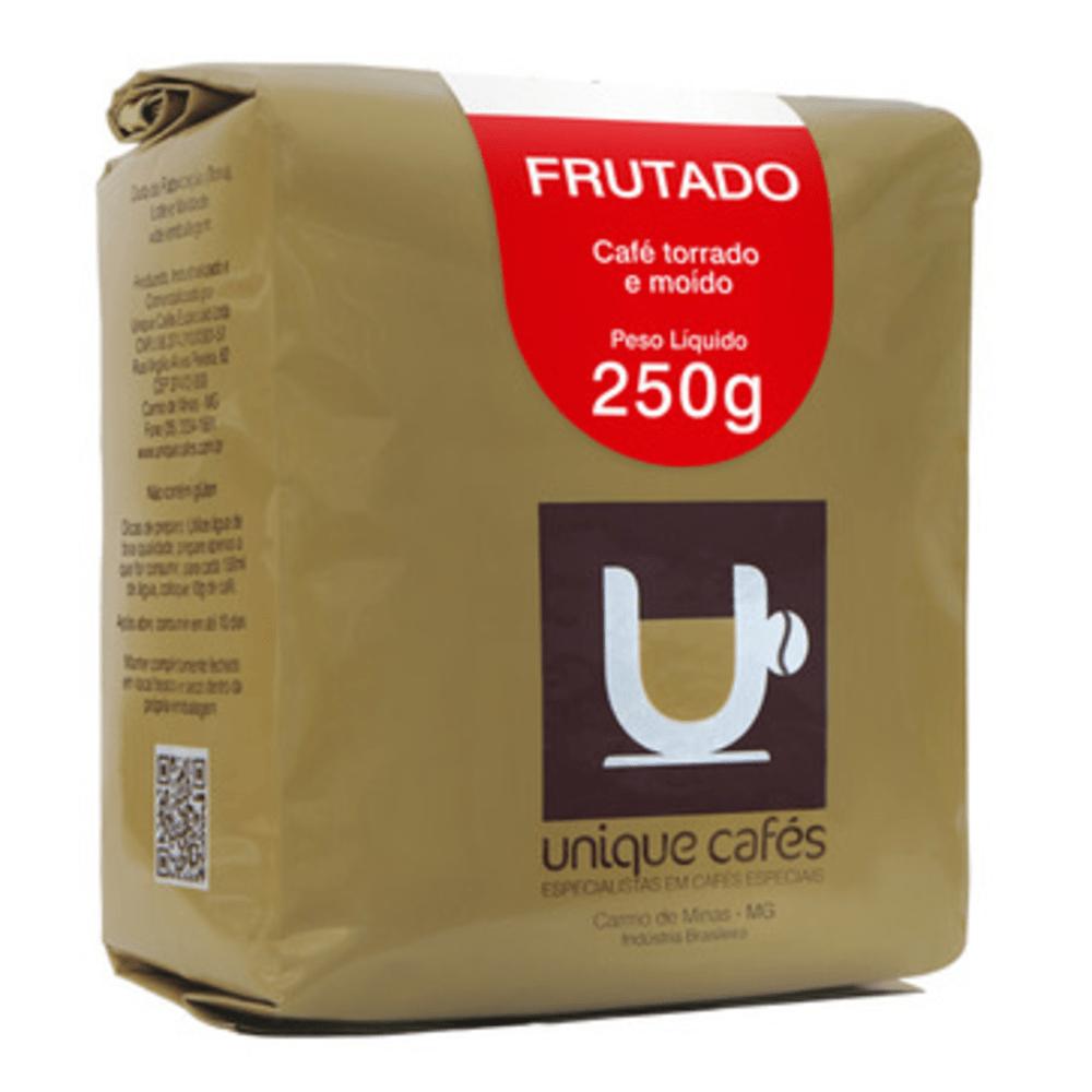 CAFE UNIQUE FRUTADO -  250G MOIDO