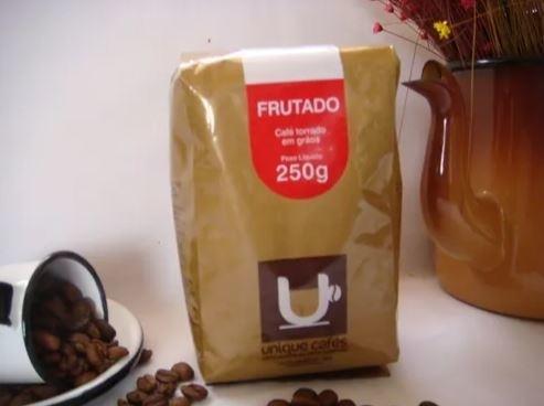 CAFE UNIQUE FRUTADO (GRÃOS)  250 GRAMAS
