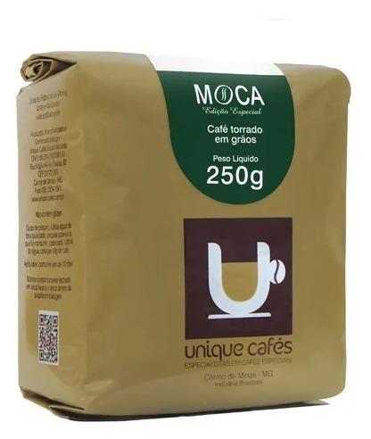 CAFE UNIQUE MOCA - 250G GRÃOS