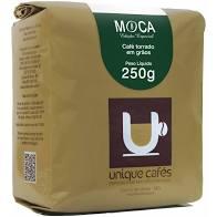 CAFE UNIQUE MOCA  (GRAOS) - 250 GRAMAS