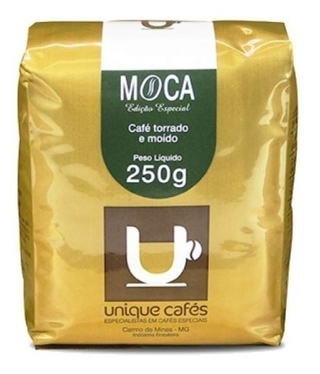CAFE UNIQUE MOCA  MOIDO - 250 GRAMAS