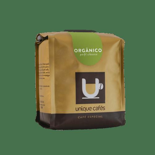CAFE UNIQUE ORGÂNICO - 250G GRÃOS