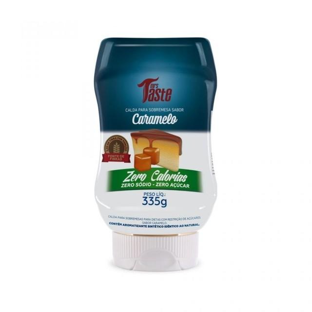 Calda Caramelo Zero - Mrs Taste - 335G