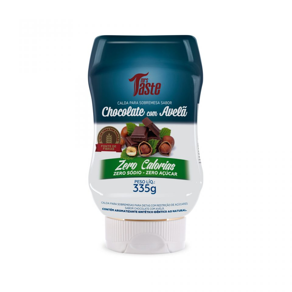 Calda Chocolate com Avela - 335g - Mrs Taste