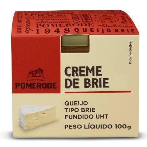 CREME DE BRIE - POTE100G