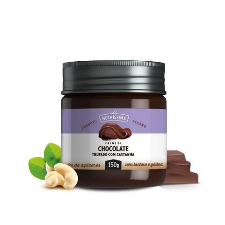 Creme de Chocolate Trufado com Castanha 450g - Nutrissima