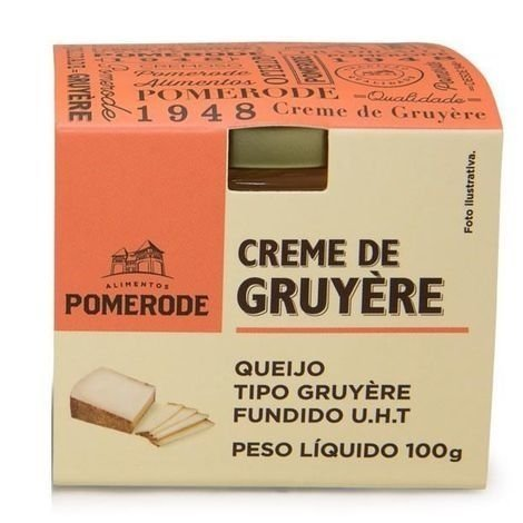 CREME DE GRUYERE POTE - 100G