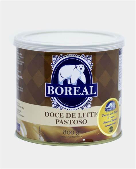 DOCE DE LEITE BOREAL PASTOSO - 800GR
