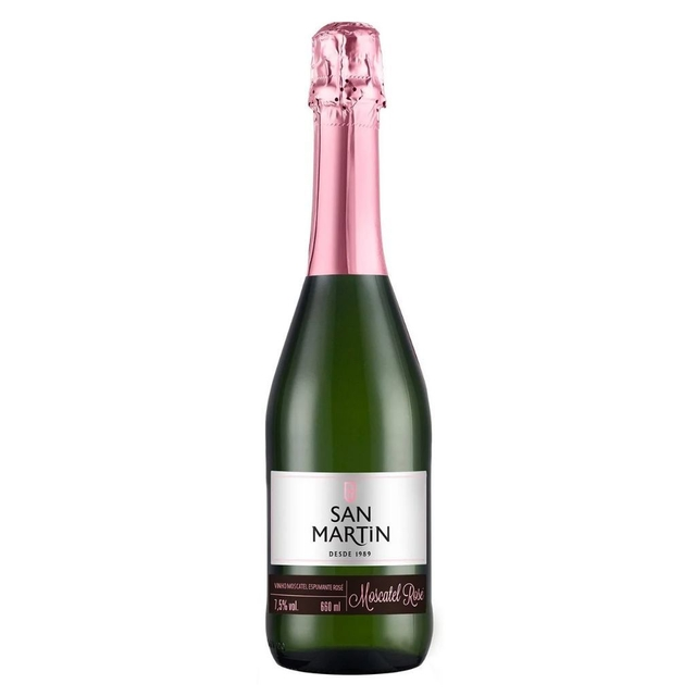 Espumante San Martin Moscatel Rose 660ml