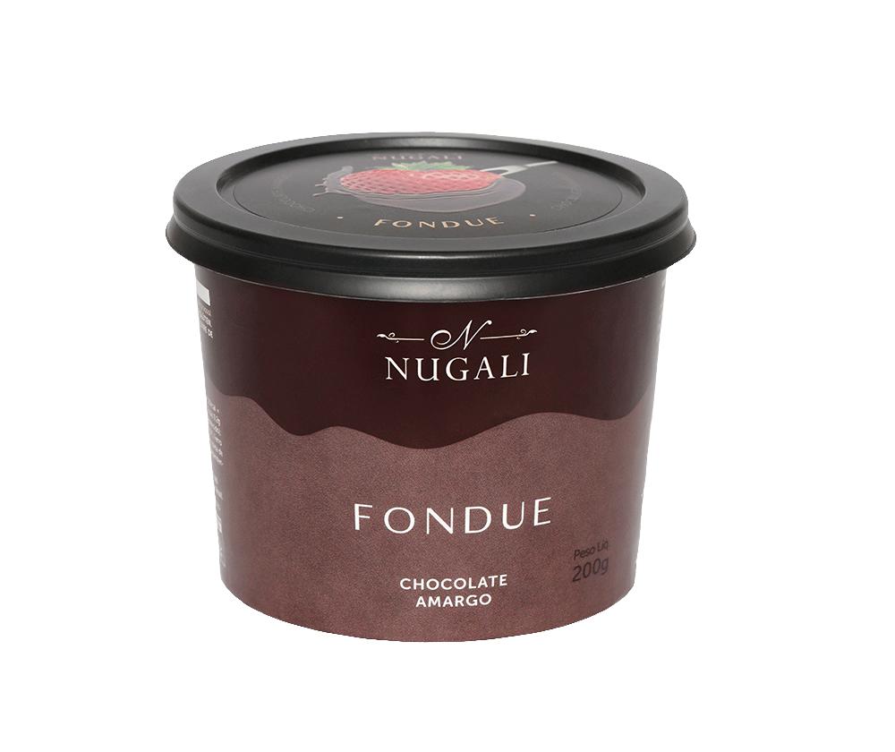 FONDUE DE CHOCOLATE AMARGO 60% CACAU - 200G