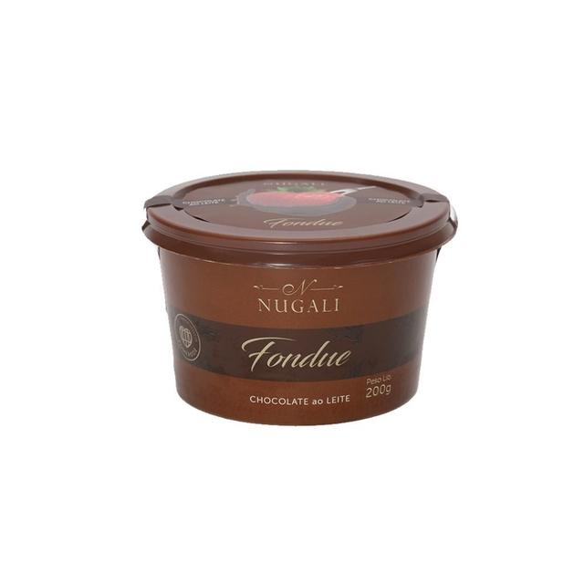FONDUE DE CHOCOLATE AO LEITE 45% CACAU - 200G