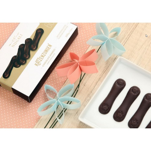 Katzenzungen de Chocolate Amargo 60% - 100G