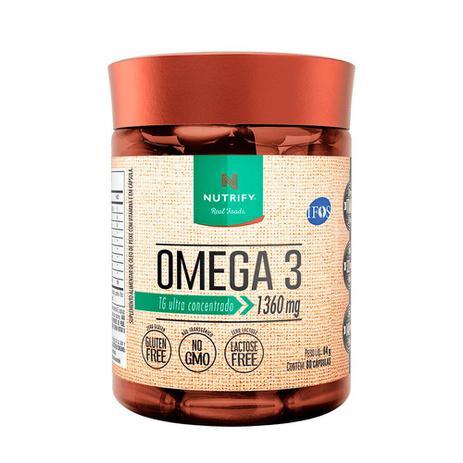 Omega 3 Fish Oil 60 caps 1360mg - Nutrify