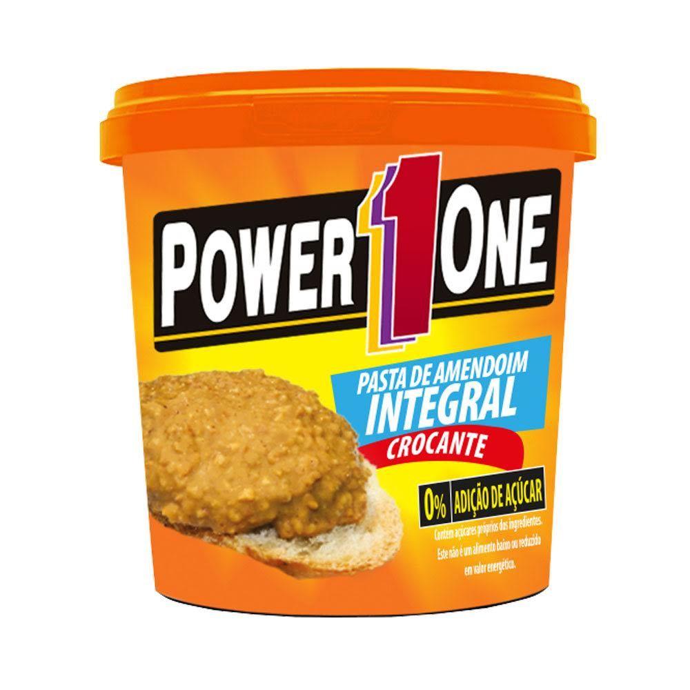 Pasta de Amendoim - Crocante 1kg - Power One