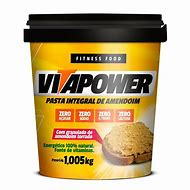 Pasta de Amendoim Integral Granulada 1Kg - Vitapower