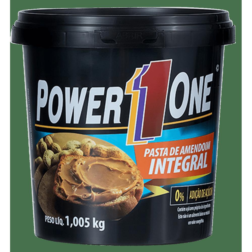 Pasta de Amendoim - Tradicional 1kg - Power One