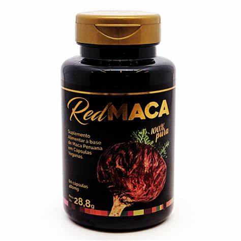 RED MACA (MACA DA MULHER) 60CAPS X 480MG