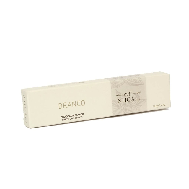 TABLETE CHOCOLATE BRANCO - 40GR