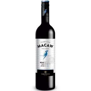 Vinho Brasileiro Tinto Demi Sec MACAW MERLOT 750ml