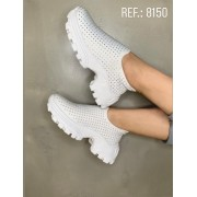 TENIS LYCRA BRANCO HOT FIX 8.150