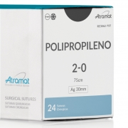 FIO DE SUTURA POLIPROPILENO RE3062-75T 24 ENV