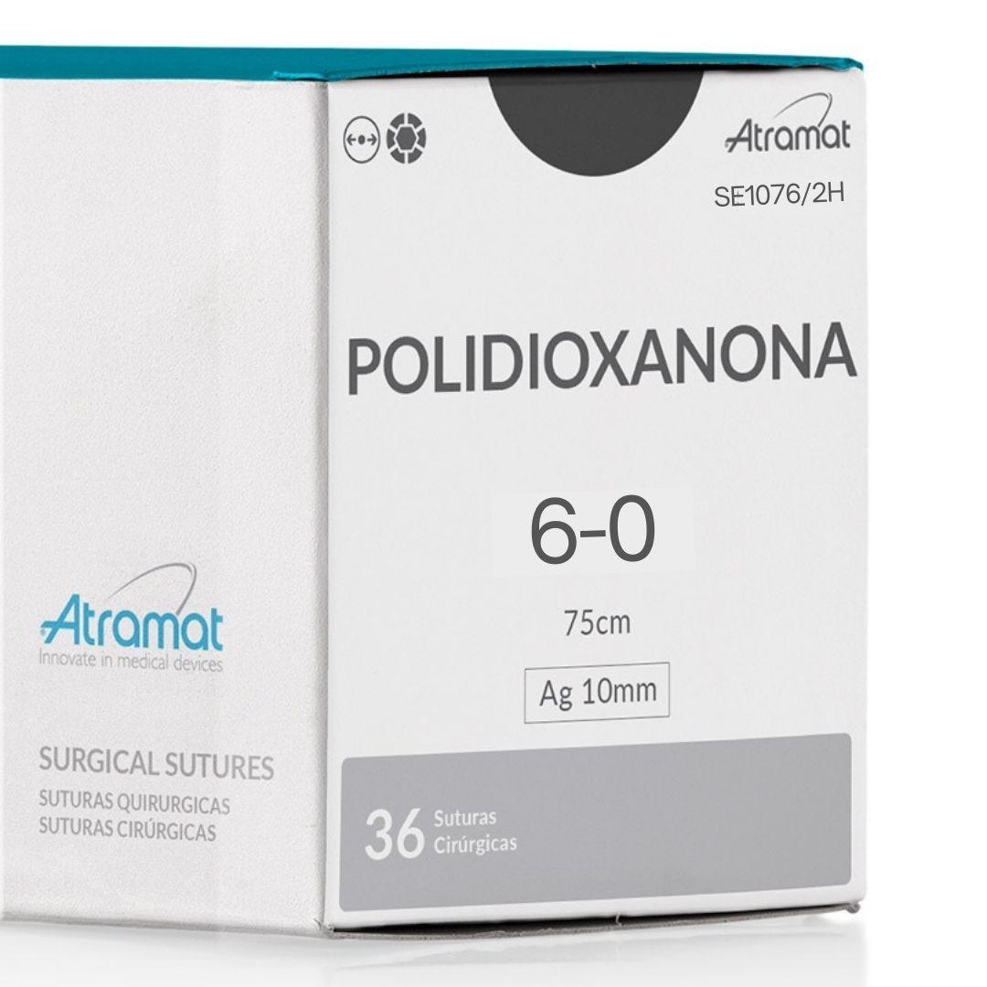 FIO DE SUTURA PDX POLIDIOXANONA VIOLETA SE1076/2H 36 ENV