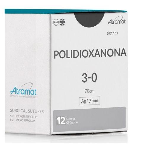 FIO DE SUTURA PDX POLIDIOXANONA VIOLETA SR1773 12 ENV