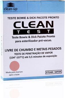 TESTE BOWIE DICKIE PACOTE PRONTO CLEAN TEST