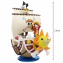 Action Figure One Piece - Thousand Sunny & Luffy - Mega WCF Special