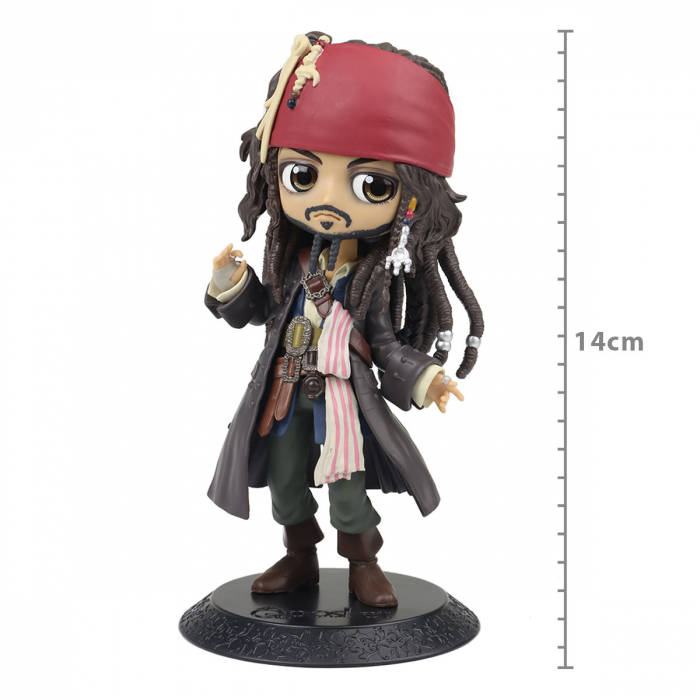 Action Figure - Pirates Of The Caribbean Q Posket - Jack Sparrow
