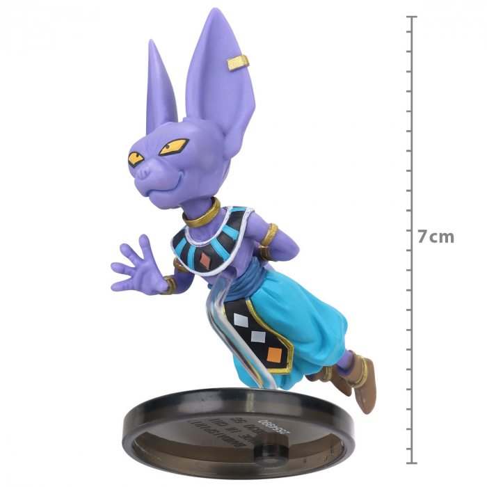 Action Figure Dragon Ball Super - Bills - The Historical Characters WCF