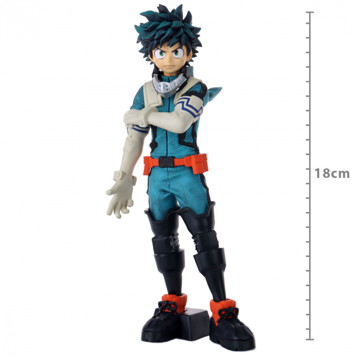 Action Figure My Hero Academia - Izuku Midoriya - Texturizado