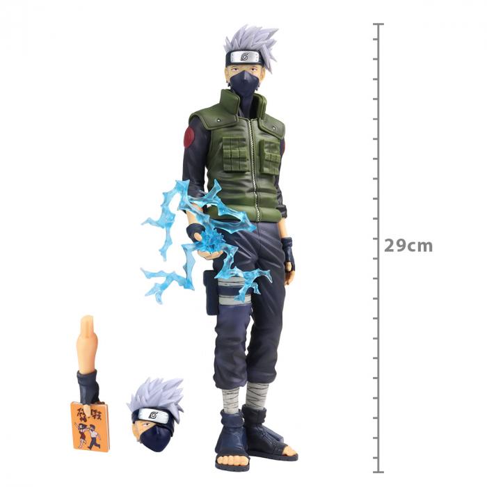 Action Figure Naruto Shippuden - Kakashi Hatake - Grandista Nero