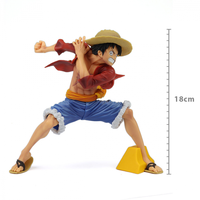 Boneco One Piece - Monkey D Luffy - Maximatic - Bandai Banpresto