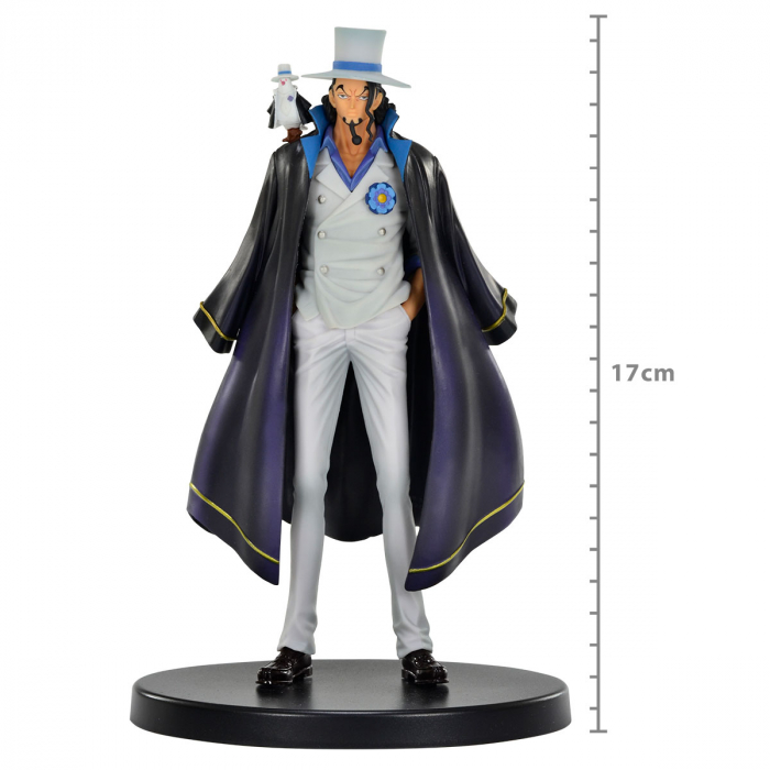 Action Figure One Piece Stampede Movie - Rob Lucci - The Grandline Men Dxf
