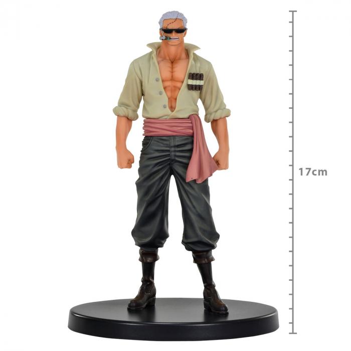 Action Figure One Piece Stampede Movie - Smoker - The Grandline Men Dxf