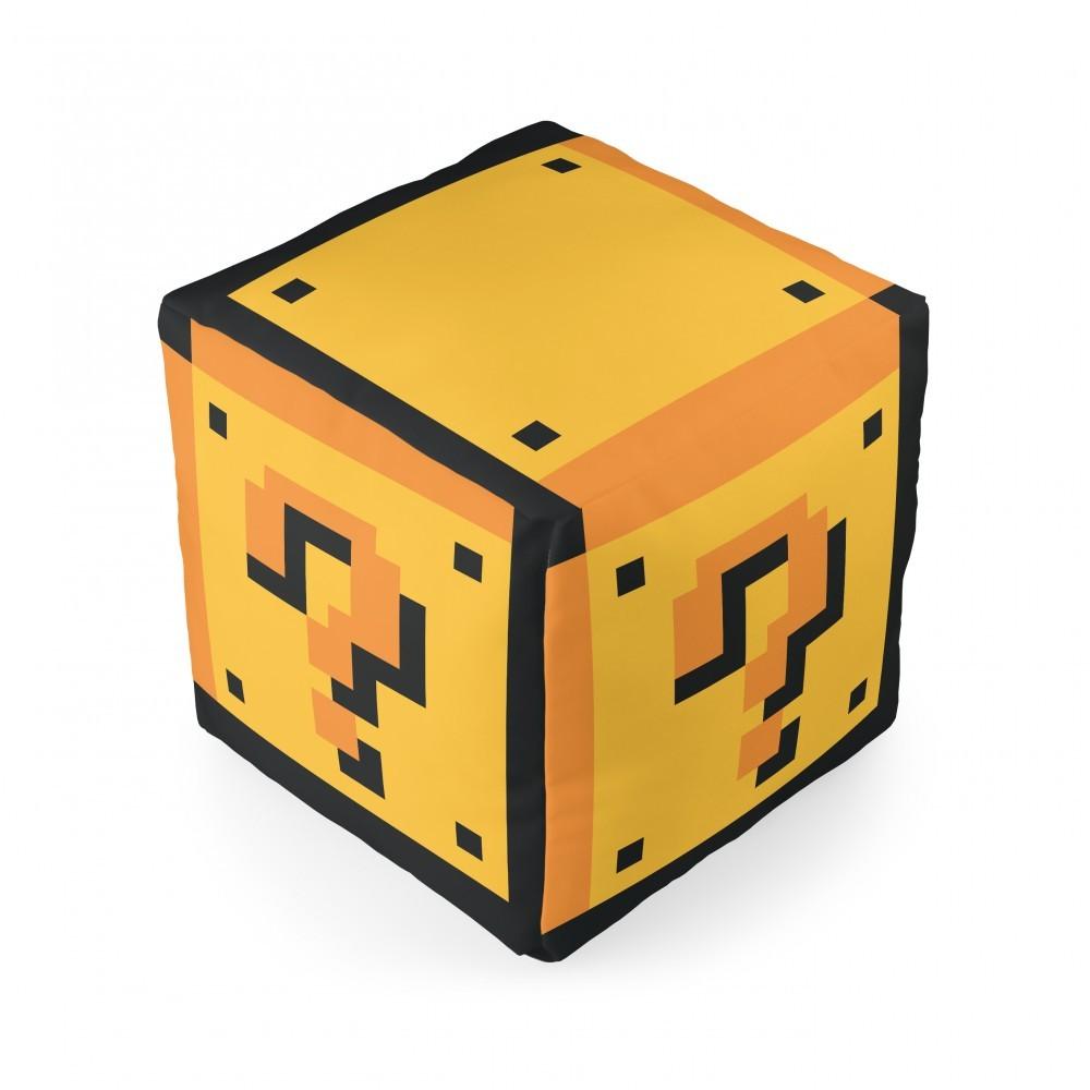 Almofada Cubo Mário Interrogação