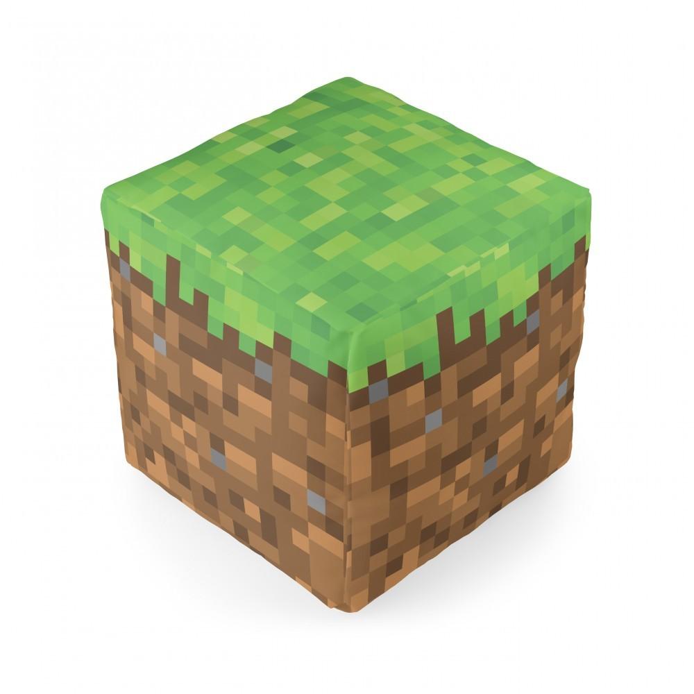 Almofada Cubo Bloco de Terra