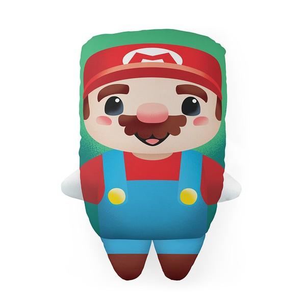 Almofada Personagem Mário