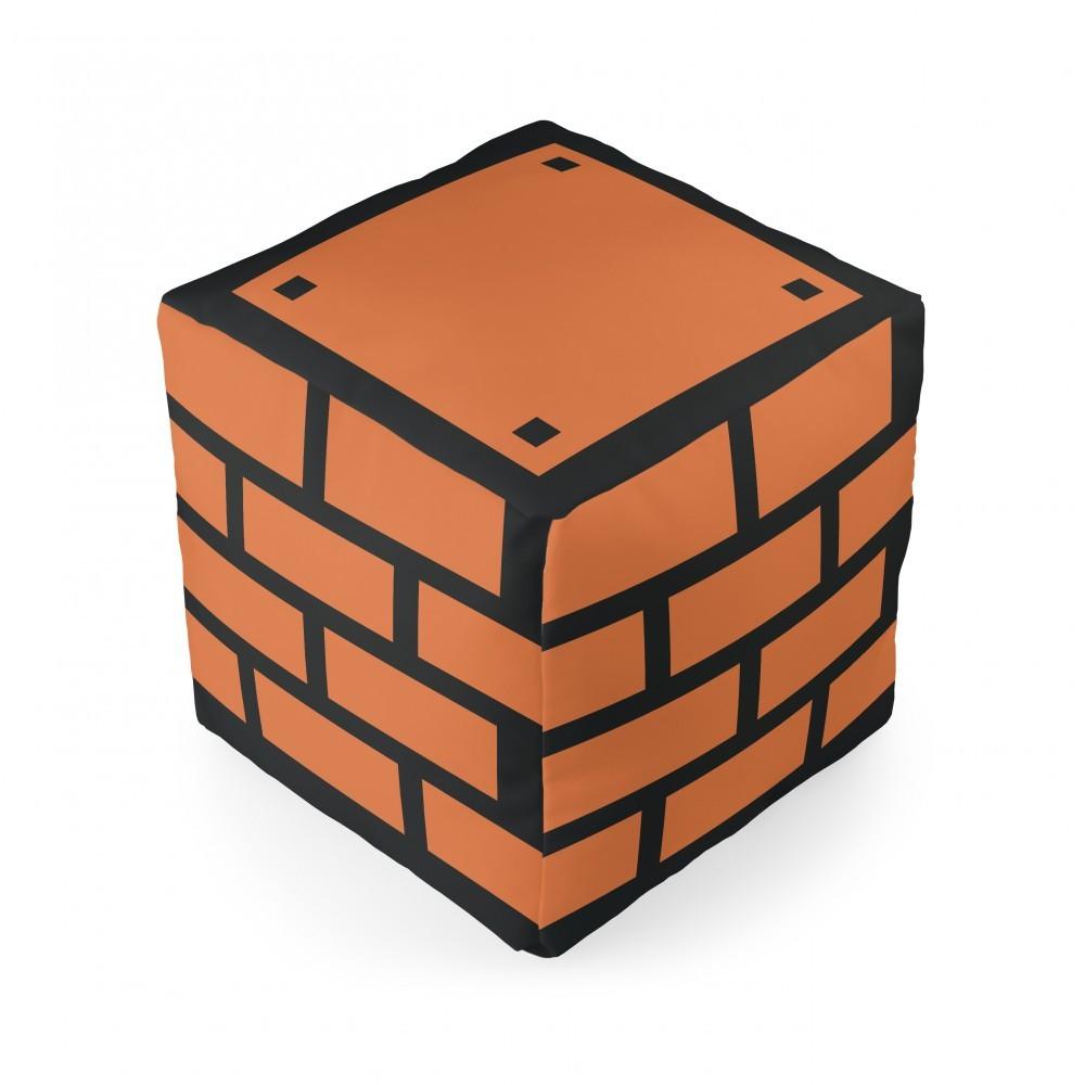 Almofada Cubo Tijolo Mário