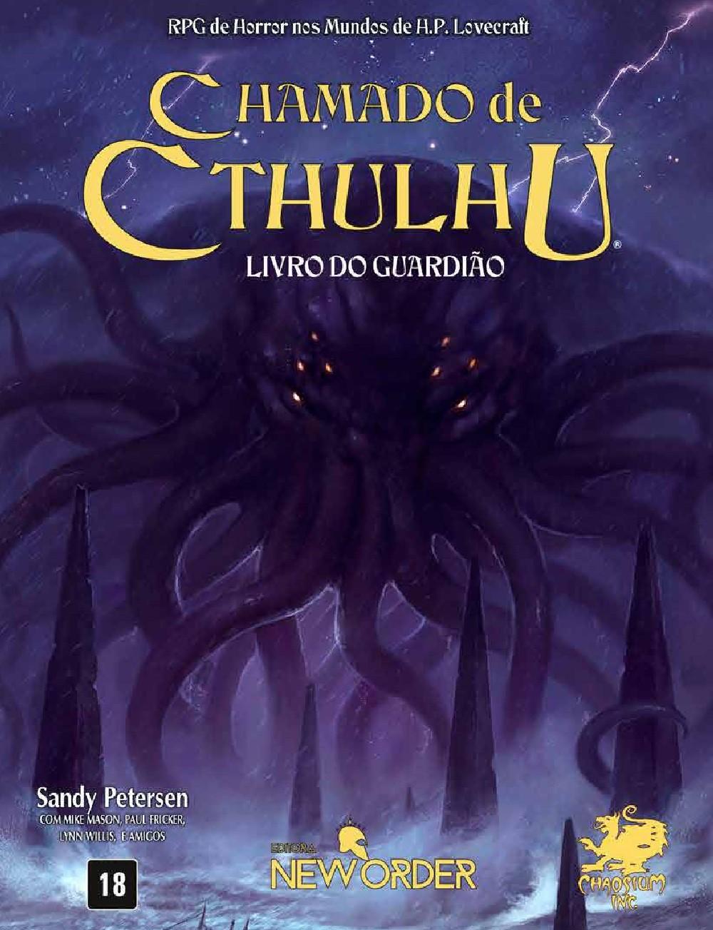 Chamado de Cthulhu - Livro do Guardião - 7ª Edição